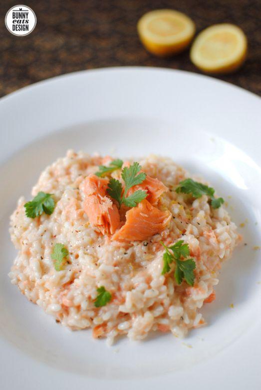 Smoked salmon risotto                                                                                                                                                                                 More