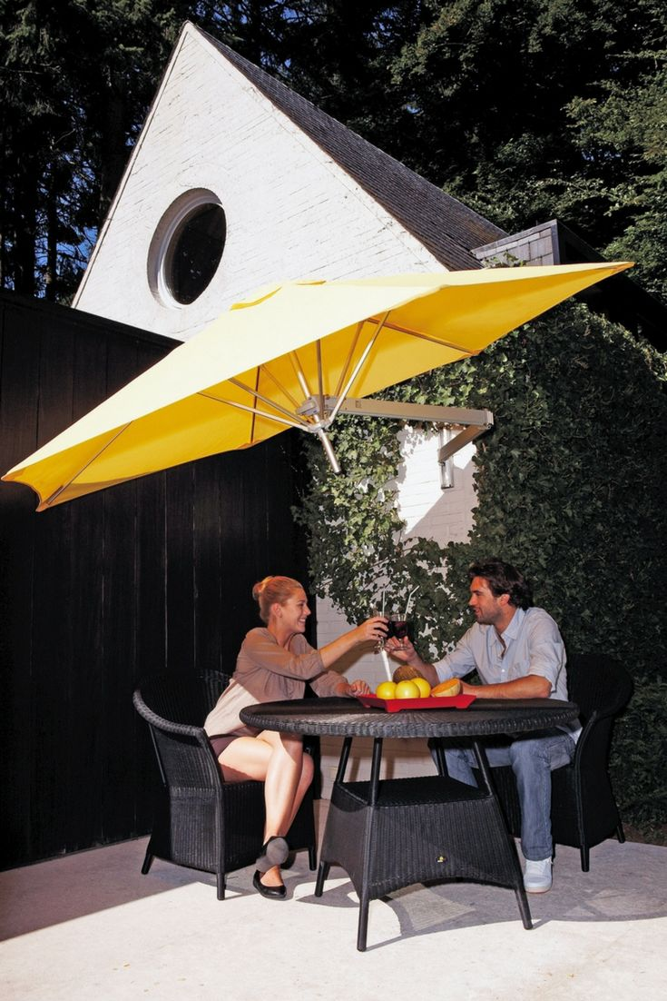 At Sticks + Stones Outdoor, we are now stocking a quality range of shade umbrellas. Umbrellas for the backyard or pool area, fixed or mobile base, and wall-mounted options available. Various colours and sizes. Our Paraflex Wall Mounted Umbrella is a flexible, unobtrusive shade umbrella that's perfect for compact areas.#outdoor#shadeumbrella#outdoorumbrella#outdoordesign