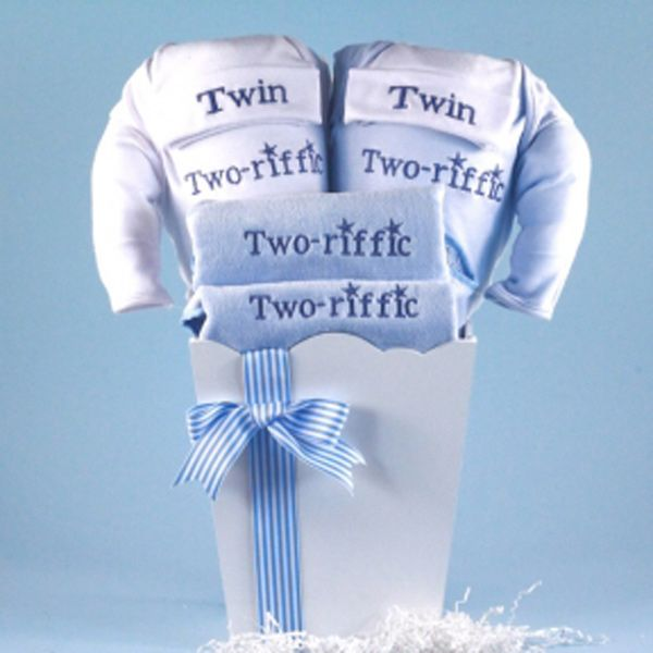 Baby Gift For Twins : Ideas about twin baby gifts on