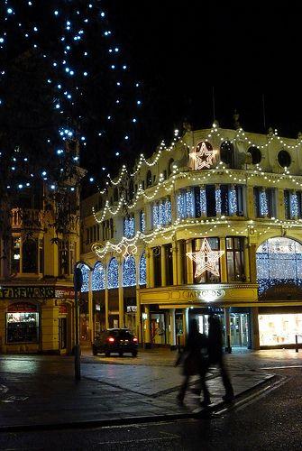 Jarrolds Store. Christmas in Norwich, England.