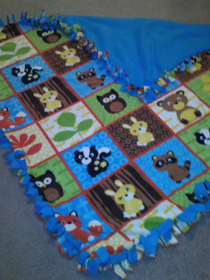 89 Best Images About Knot Blanket On Pinterest Fleece
