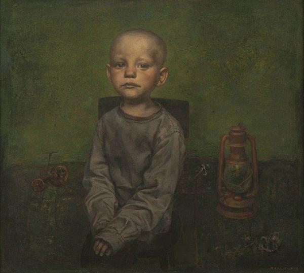 """""""Broken Toys"""" by Igor Melnikov, 2012. // son las búsquedas por emular a través de retratos, estos brincos de las emociones humanas que viajan a través de una iconografía de la fragilidad. // arte contemporáneo, pintura, contemporary art, artwork, oil painting."""