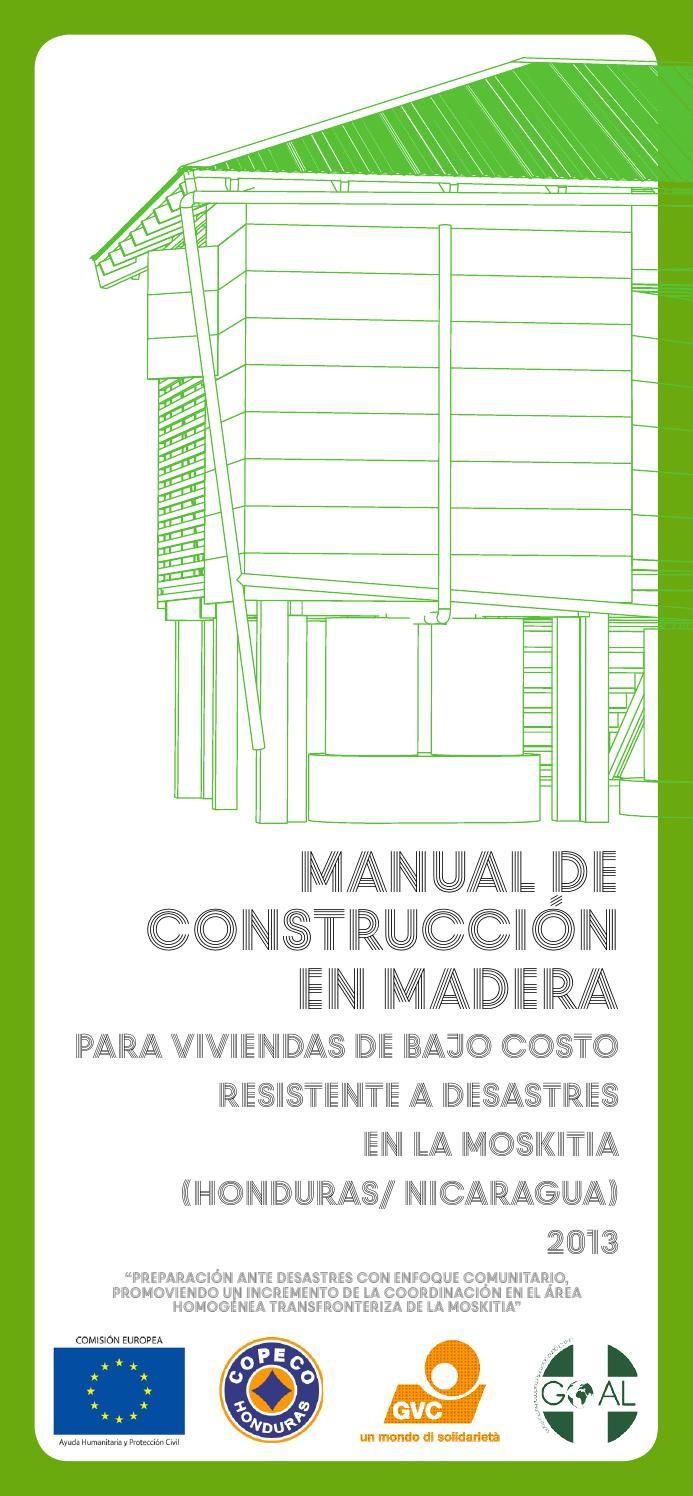 Manual de construcci n en madera para viviendas de bajo for Manual de construccion