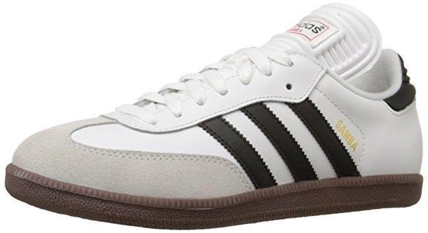Mens Adidas Samba Classic White Athletic Indoor Soccer Shoes