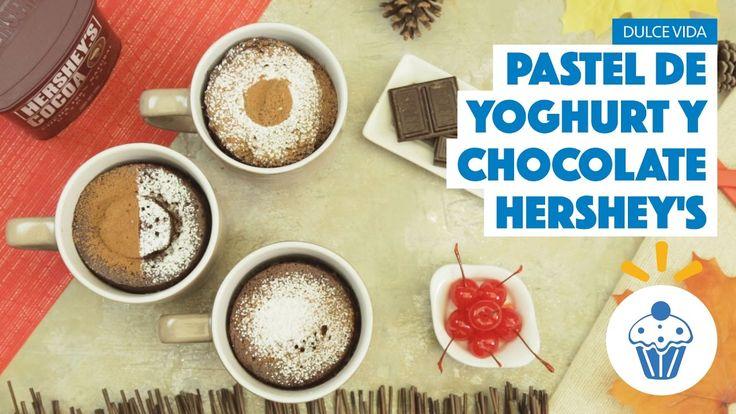 ¿Cómo preparar Pastel de Yoghurt y Chocolate Hershey´s? - Cocina Fresca