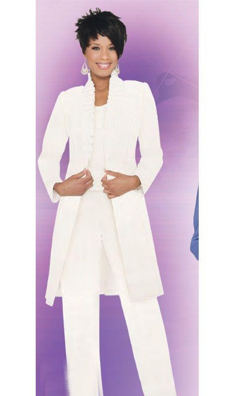 Womens Beige Peplum Pants Suit Womens Pant Suits Plus