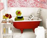 """""""Read-in-the-Bathtub-Day."""" Who wouldn't want to announce this...?! See The Book Chook for a list of special days to celebrate books."""