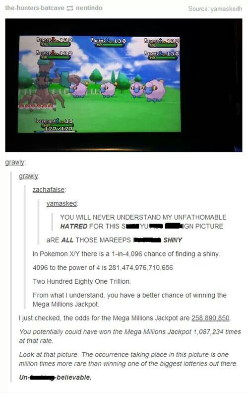 Funny thing is, he/she could only catch 1 hahaha. I need to get a 3ds so I can play this!!!!!!!!