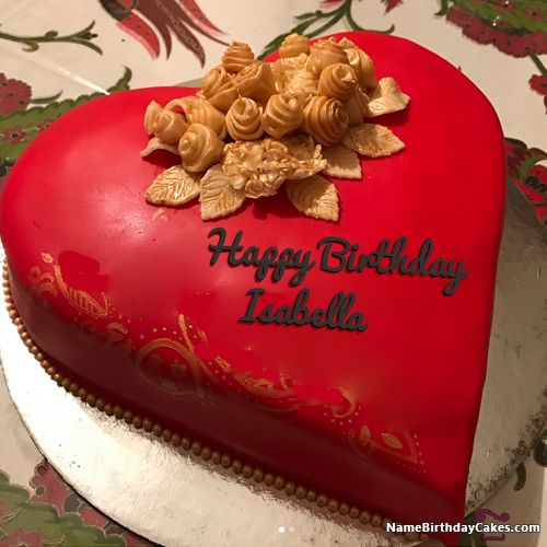 Happy Birthday Isabella Video And Images Name Happy Birthday Images Happy Birthday Images
