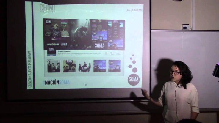 Proyecto académico para la material de Hipermedial de la Carrera de Publicidad de la Universidad Central. Presentación SOMA Circuito Sonoro 2014 Caso de estudio.