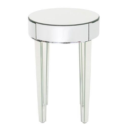 Alvo Contemporary Mirrored Round Table | Jet.com