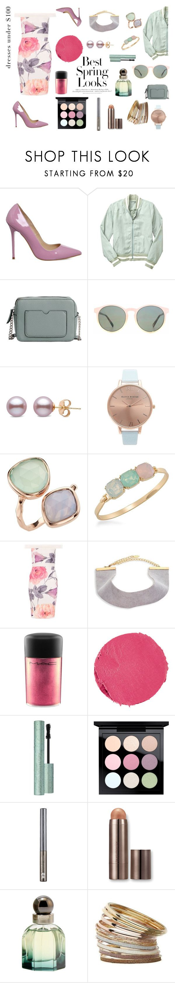 """Untitled... Look #94"" by alexandriadelamode ❤ liked on Polyvore featuring Office, Gap, MANGO, HOOK LDN, Topshop, H&M, Carolee, Dorothy Perkins, Ettika and MAC Cosmetics"