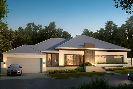 Single Storey Home Design Image - The Carine by Boyd Design Perth