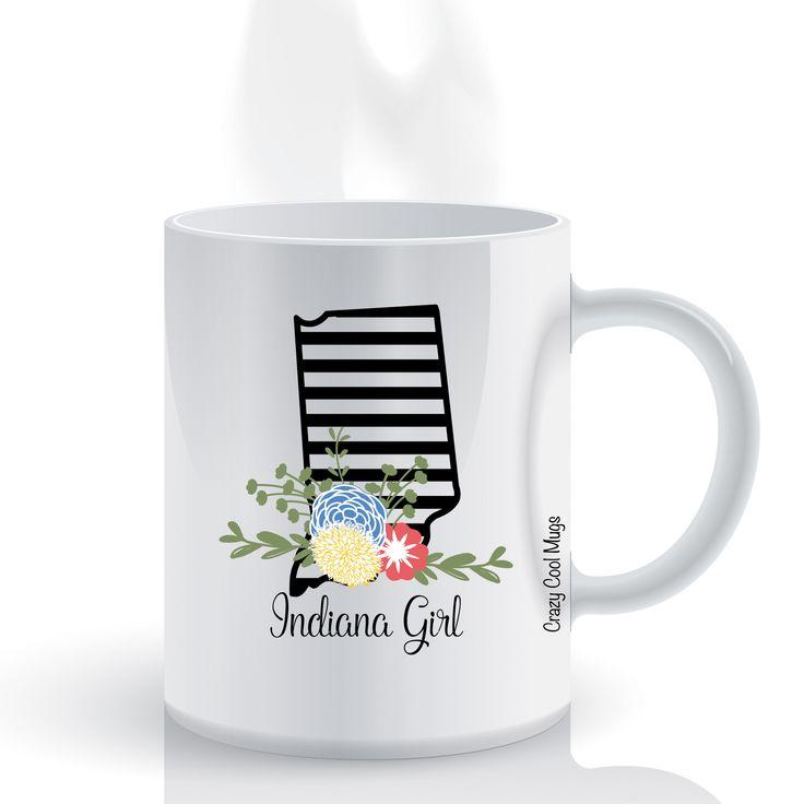 Indiana Girl State Pride Coffee Mug