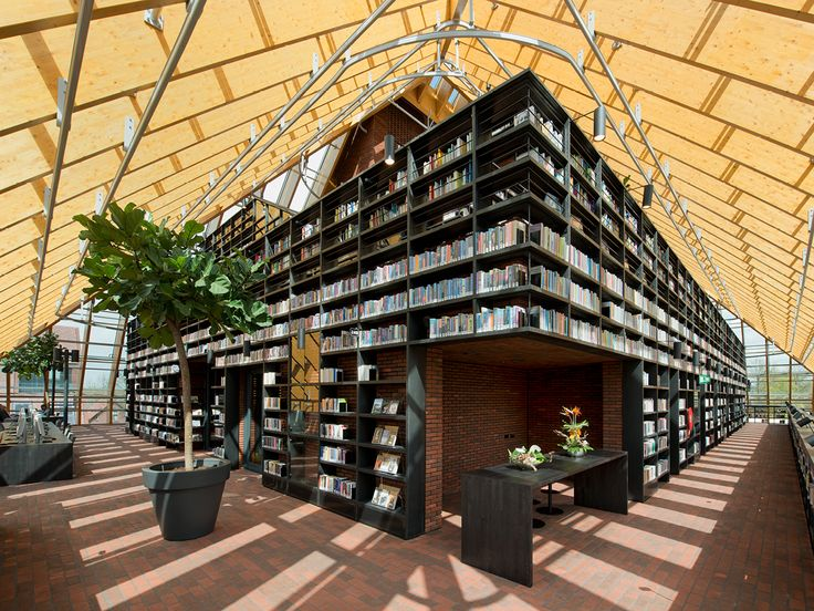 Book Mountain | Spijkenisse, The Netherlands | MVRDV