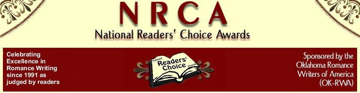 Treasured Claim is a Double Finalist in the National Reader's Choice Awards--Best First Book and Paranormal Romance--with the Oklahoma RWA!