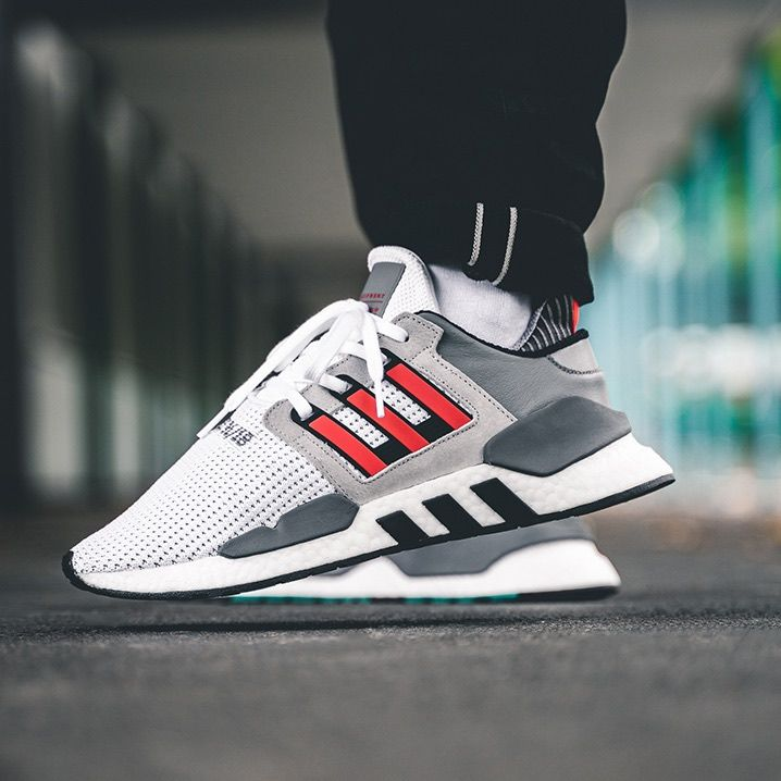 uk availability d1fe4 2d02c Release Date   October 1, 2018 Adidas EQT Support 91 18 White   Grey