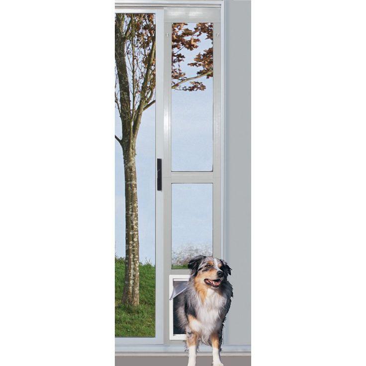 Ideal Modular Sliding Glass Dog Door | from hayneedle.com