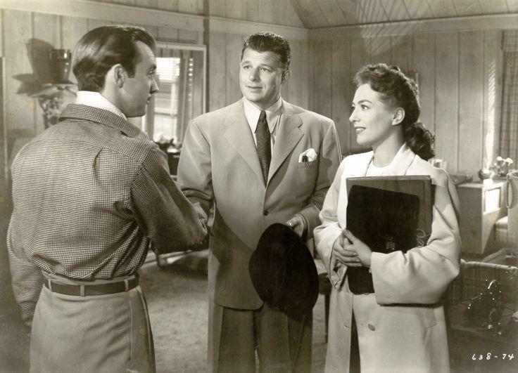 """Mildred Pierce"" (WB, 1945) Scott, Carson and Crawford"