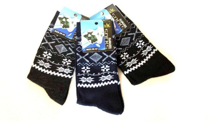 3 Paar Herren Norweger Business Socken Größe 39/42