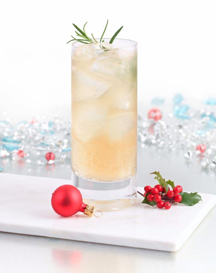 Un cocktail au gin et au sirop d'érable