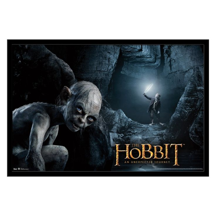 Trends International The Hobbit - Gollum Wall Poster - FR5321BLK22X34