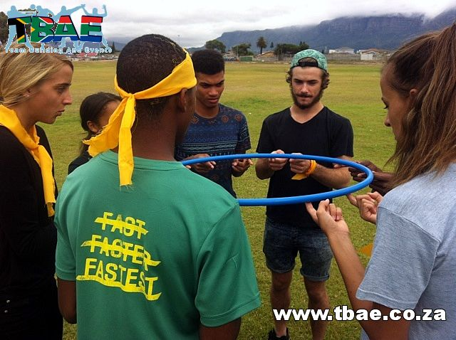 Team Building Activities with Hula Hoops