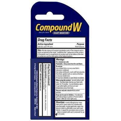 Compound W Liquid Wart Remover - .31 oz.