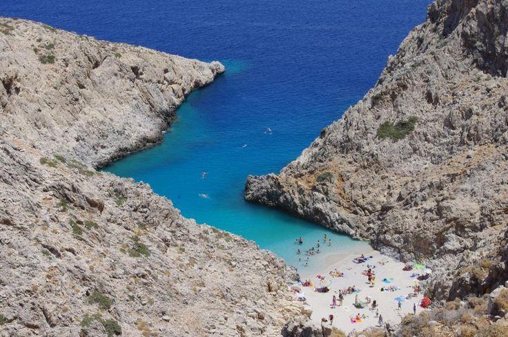 Seitan Limania beach, Akrotiri, Crete