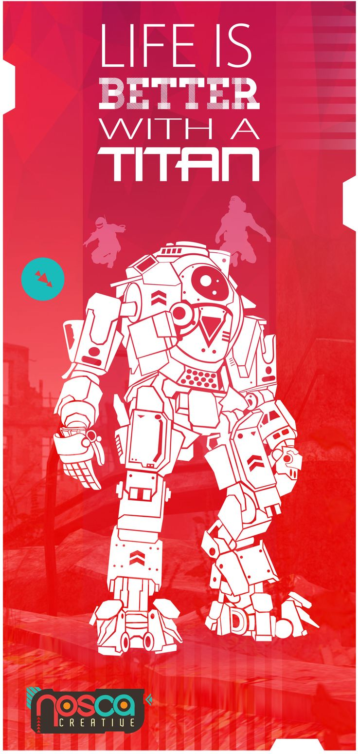 Titanfall poster by  Dean Theobald
