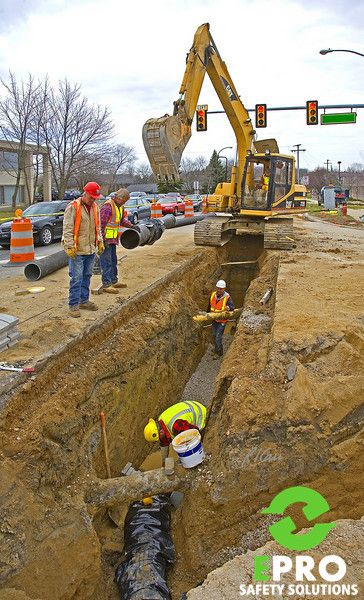 #EPROSafety #Unsafe #Fail #Construction #Trench #SafetyFail
