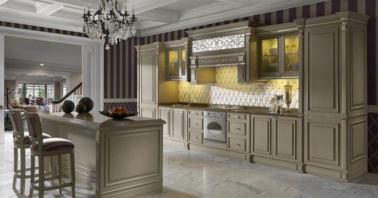 Klasyczne kuchnie Lys, to eleganckie oraz proste wzornictwo zainspirowane w stylowych meblach klasycznych ale przystosowane do aktualnych trendów. Wykonane z jesiona meble, można zaprezentować w szlachetnych wykończeniach z drzewa orzechowego lub w lżejsze decape lub lakierowane przetarte.