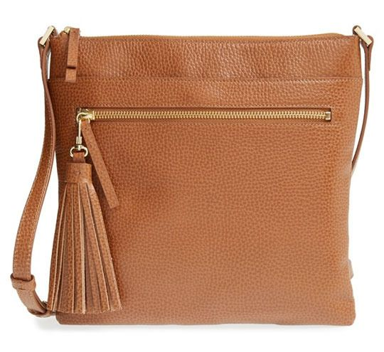 Cross Body Cross body purses are a traveler's best friend.