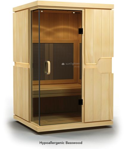 Mpulse believe infrared sauna home sauna sunlighten for Master bathroom with sauna