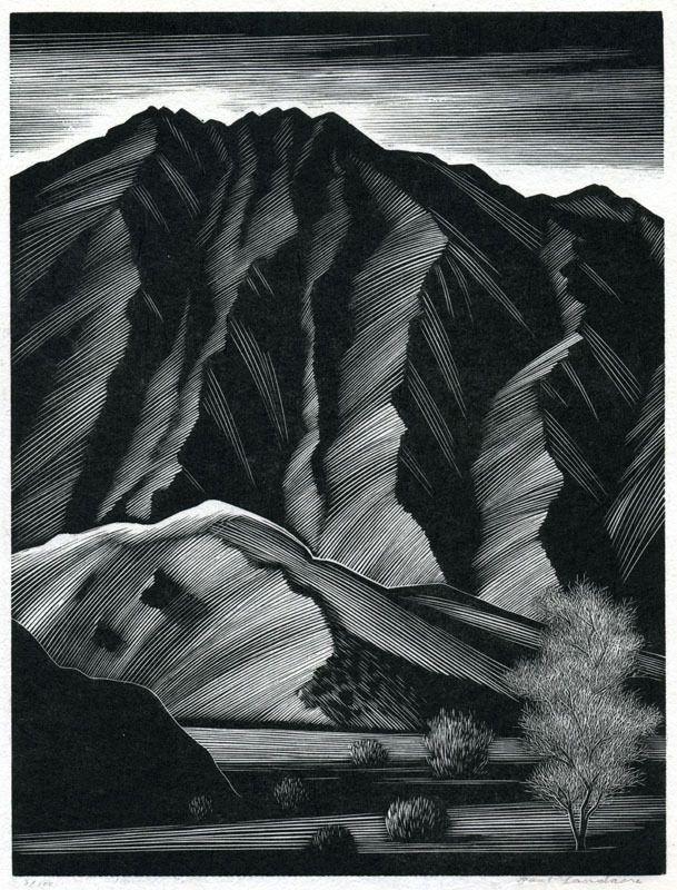 Les gravures de Paul Landacre - La boite verte