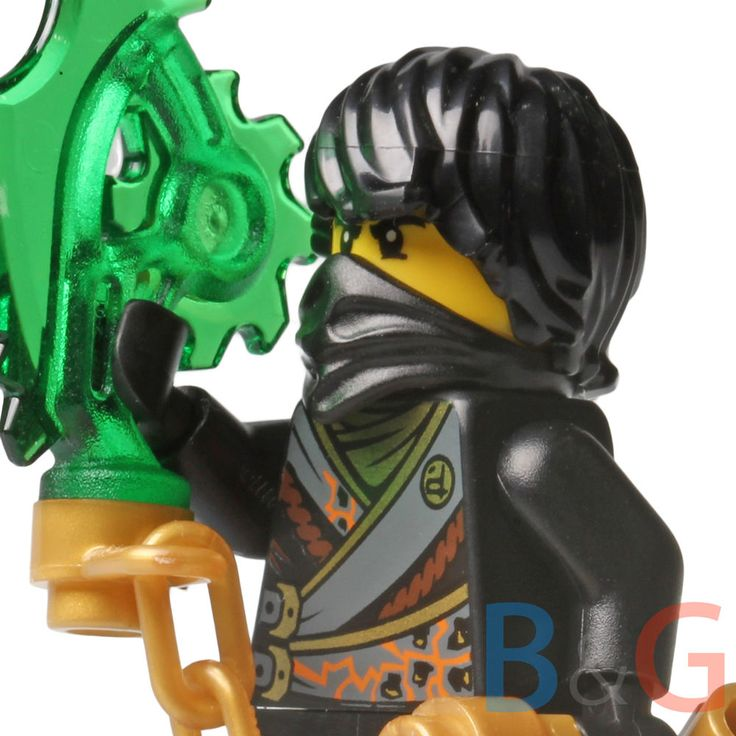 LEGO Ninjago Rebooted Cole w Techno Blade from set 70720