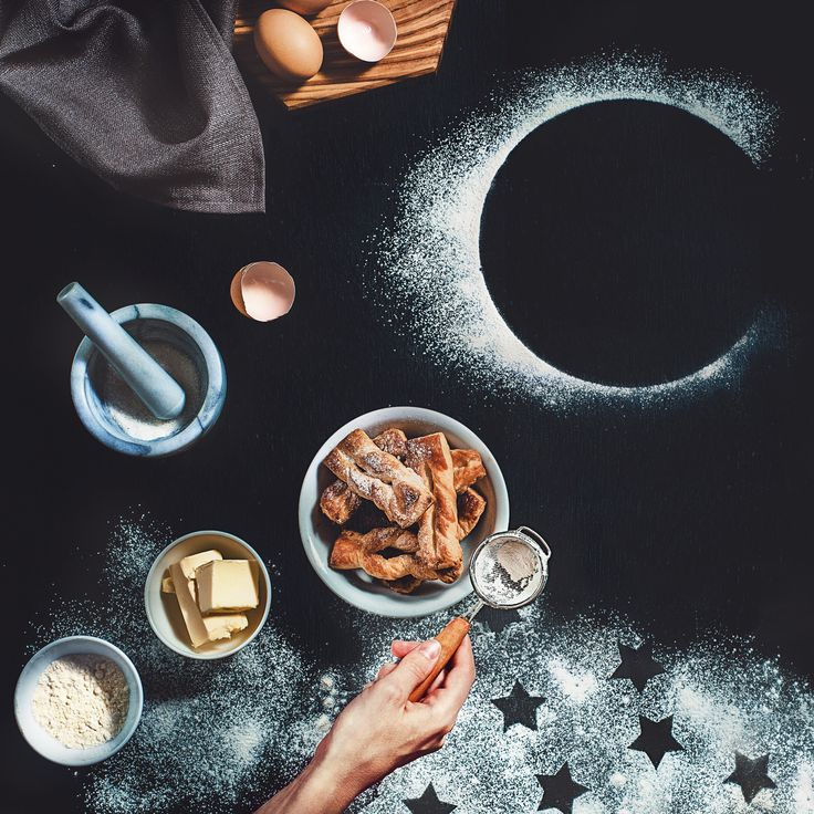 Puff pastry with stardust by Dina Belenko on 500px: