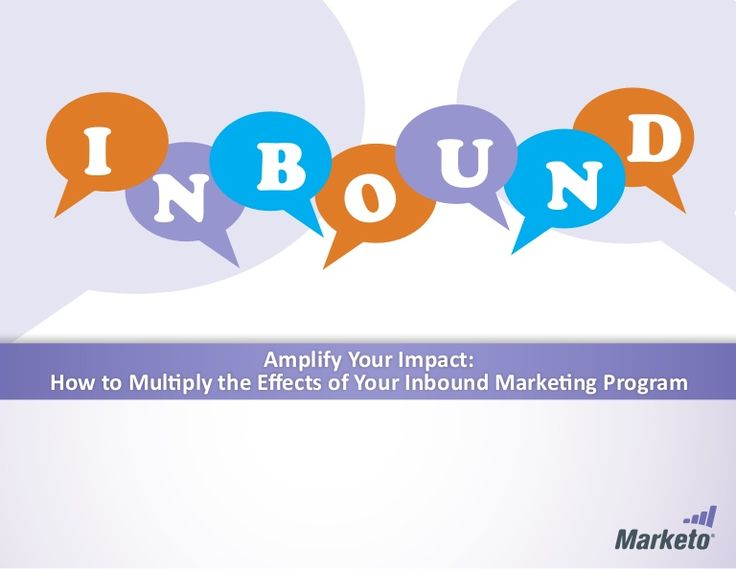 Amplify your Impact - Inbound Marketing - #Marketo Feb 2014