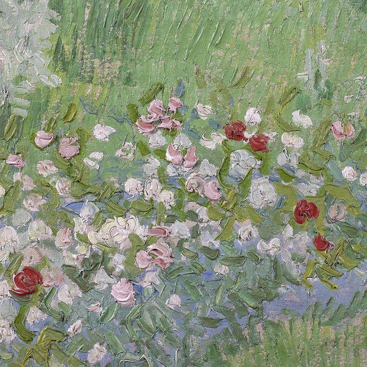 Daubignyu0027s Garden (detail) By Vincent Van Gogh