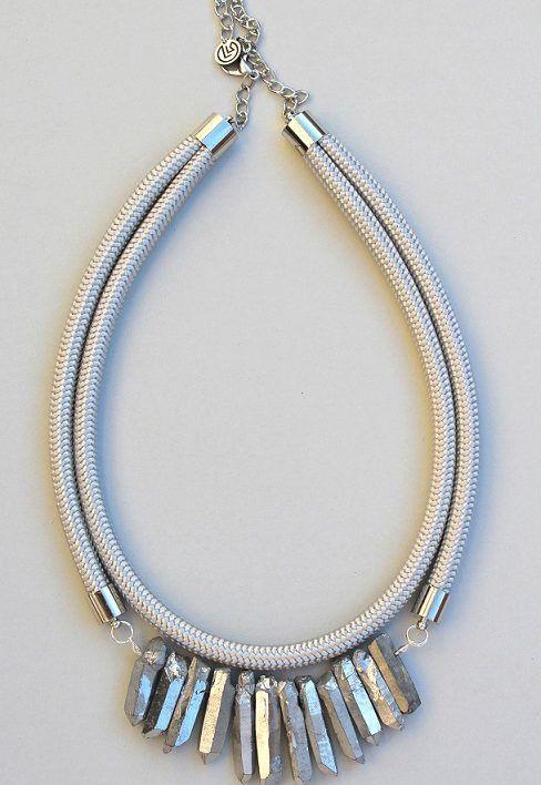 Quartz nyaklánc | Lango Krisztina Accessories