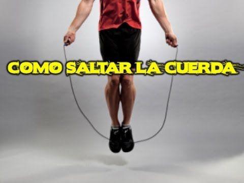 Aprende a saltar a la comba en 3 pasos, Tutorial - YouTube
