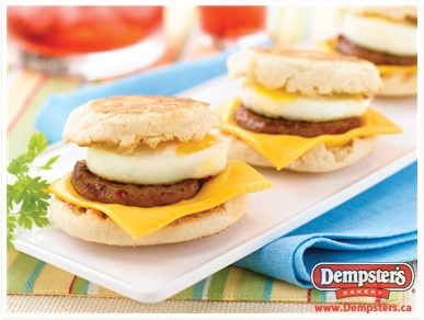 Sausage And Egg Muffin From Dempstersca