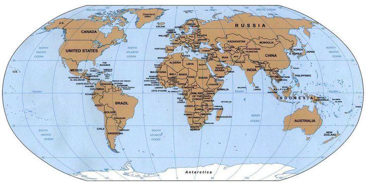 La cartografia è la scienza della costruzione e del disegno delle carte geografiche.Poiché la superficie della terra è curva, essa non può essere proiettata