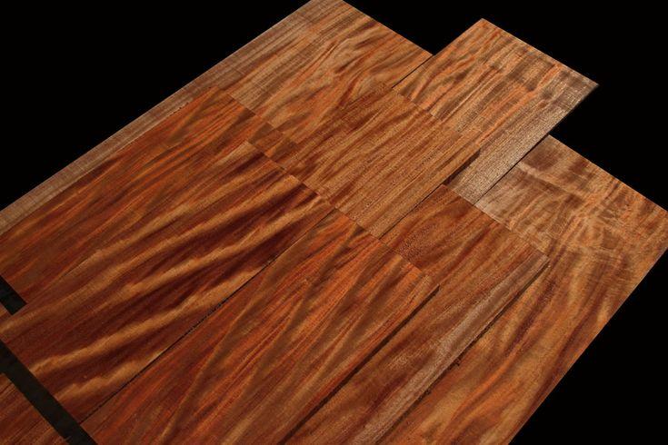 Exotic Wood African Mahogany Beautiful Hardwood Species