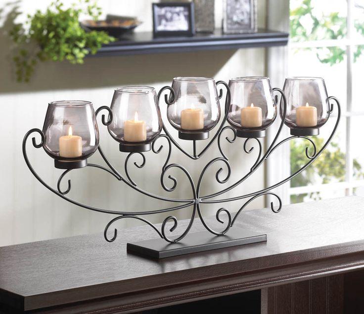 Top 25+ best Fireplace candelabra ideas on Pinterest | Luminara ...
