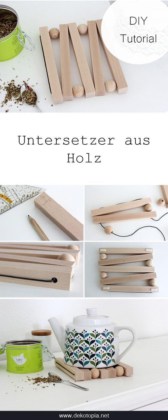 DIY Anleitung: Baue einen Untersetzer aus Holz