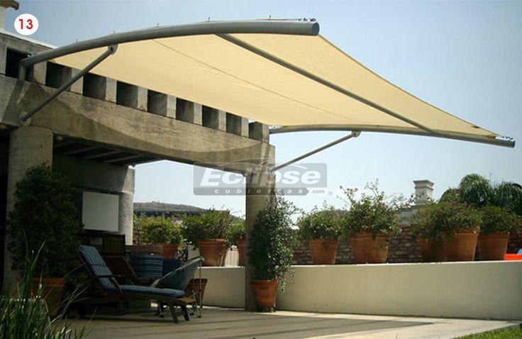 Toldo malla sombra para terrazas en 2019 toldo para - Lonas para techos ...