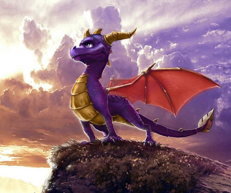 Do you know this little purple dragon????ofcourse yes...he is Spyro