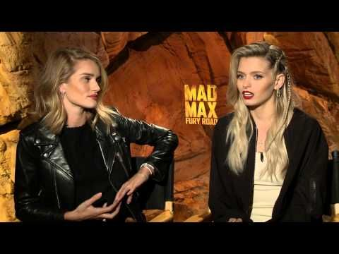 Mad Max: Fury Road: Rosie Huntington-Whiteley & Abbey Lee Official Movie Interview - YouTube