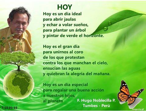 Poesía con conciencia ambiental